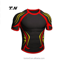 Volle sublimation rugby jersey großhandel