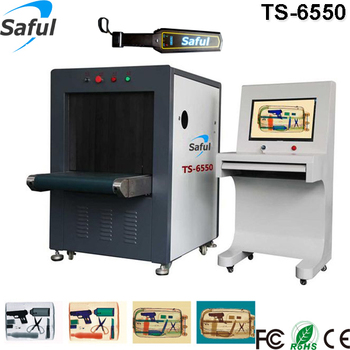 Middle size Airport X ray Baggage Scanner machine TS-6550 for sale