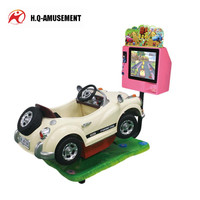 Amusement kiddie ride speed coin operated indoor arcade video kids game machine