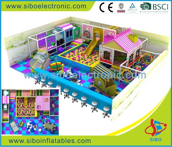 GM20120515 adventurer children's maze indoor play equipment kids playing house