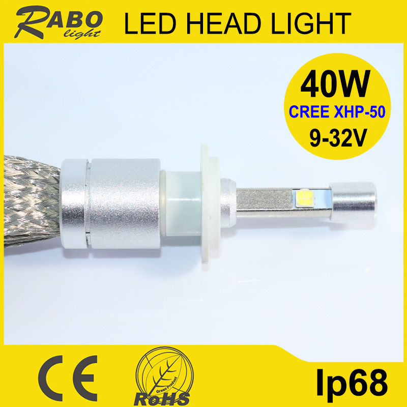 New products car headlight restoration 40w h3 h7 h13 head light kit