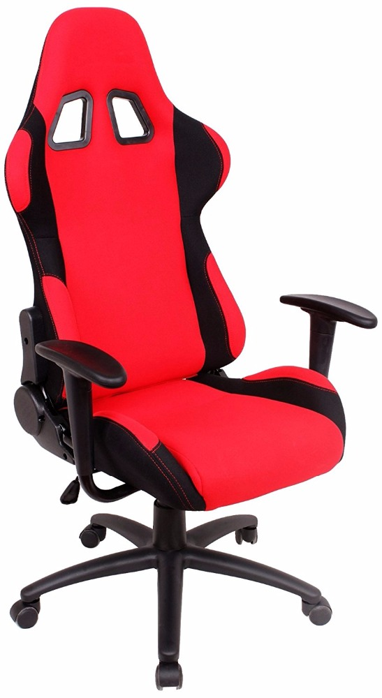 Lounge Racing Car Seat Office Jeep Gaming Chair Red/Black
