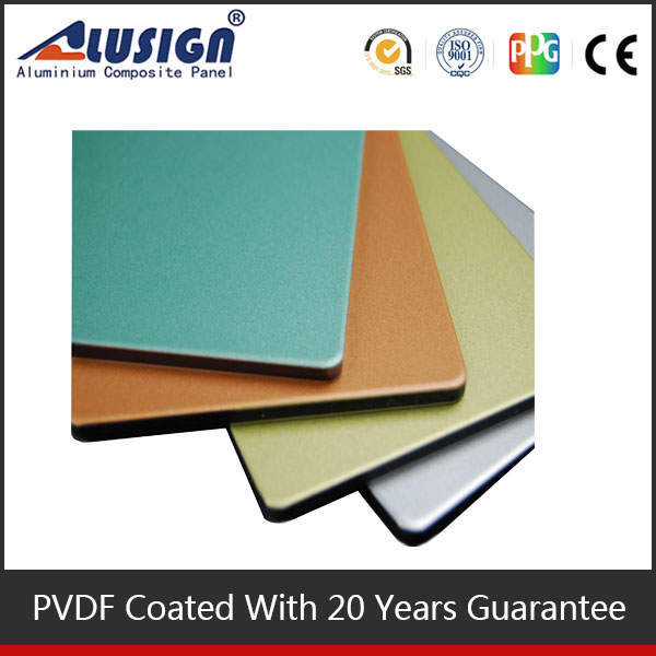 Alusign decorative wall light cover aluminum composite panel external wall insulation materials