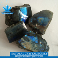Mineral Natura Raw Gemstonel Labradorite Rough