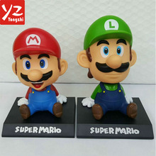 Custom Wholesale Plastic Cartoon Action Figure Super Mario Bros