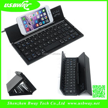 good delivery foldable bluetooth keyboard Foldable Wireless Mobile Keyboard & Stand
