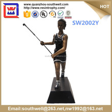 new design resin trophy award and wholesale custom honkey ball award and resin trophy medal for sale
