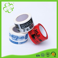 High Quality Printed bopp packing tape with Custom Logo