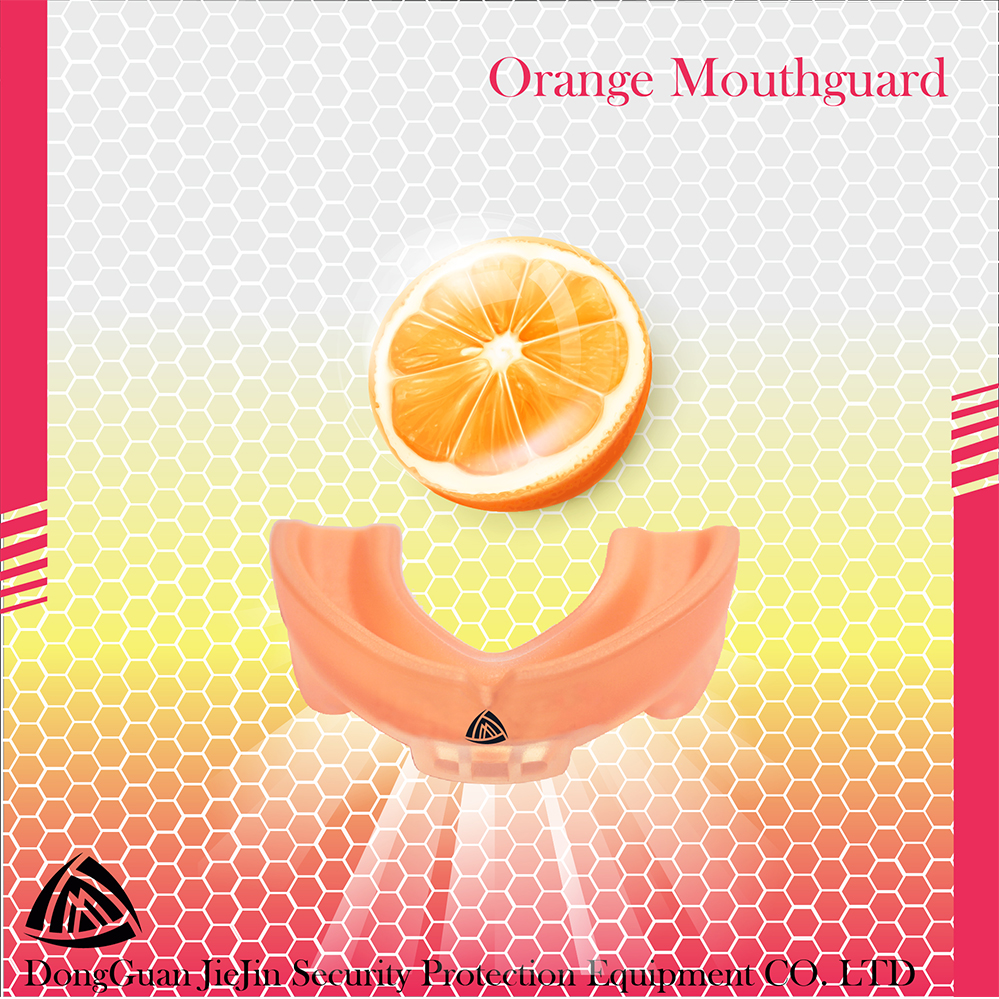 Orange Mouth Guard/Boxing Protection Mouth Guard/Air Gel Gum Shield Mouthguard
