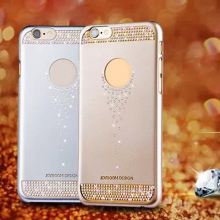 PC Material Bling Bling Crystal Mobile Phone Case Cover for iphone 6,bling mobile phone cover