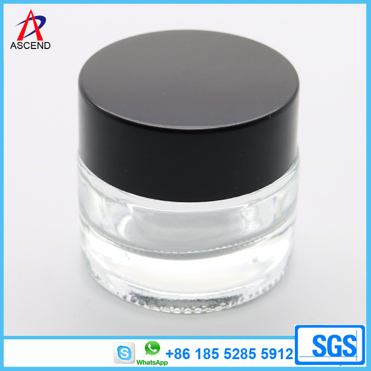 Cosmetic packaging 10g glass cream jar
