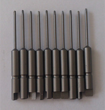Hot sell screwdriver bit set for electric screwdriver using