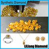 Price Of Synthetic Yellow Diamonds Industrial