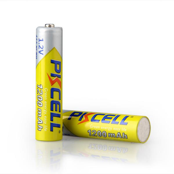 PKCELL factory price Ni-mh AAA 1.2v 1200mah Rechargeable Battery for toys