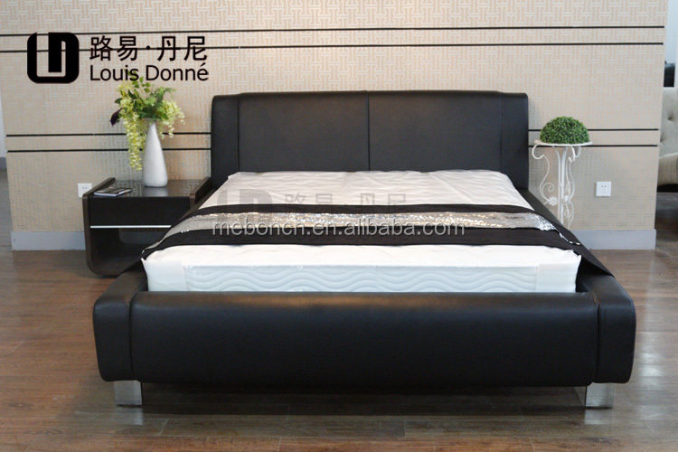 Lastest double bed designs,sex bed BD085,soft bed