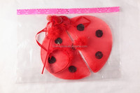 attractive seven-spotted lady beetle red fairy wings and wands for wholesale