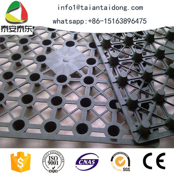 Taian earthwork products dimple drain board price