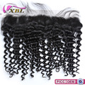 xblhair virgin malaysian human hair deep wave frontal lace closures ear to ear