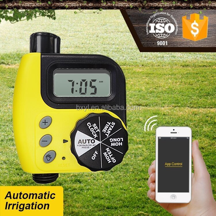 Bluetooth Smart Garden Watering Hose Timer