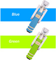 Hot selling mini colorful monopod with aux cable