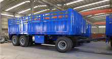 trailer factory flatbed with side board small 2 axle dolly trailer