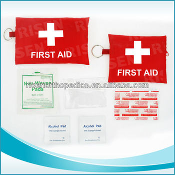 2014New OEM key chain first aid kit for girfts kinds of colors