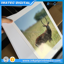 260g Bright White Micro porous Waterproof High Glossy RC Inkjet Photo Paper for Pigment Ink