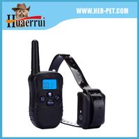 Hot rechargeable and waterproof dog training collar, used dog training collar shock from china