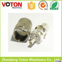 uhf cable tv wire connectors wrench flange load connector male female organs