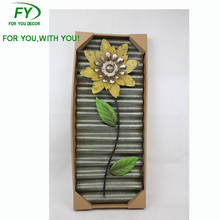 WD-35 Autumn home metal flower wall hanging wall decoration