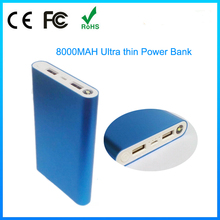 2015 new design 8000mah portable universal circuit power bank charger for iphone 6s