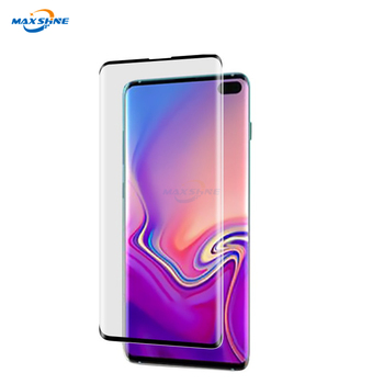 Maxshine Anti Scratch Full Glue Ultrathin 2.5D Mobile Phone Tempered Glass Screen Protector For Samsung S10 S10E S10 Plus
