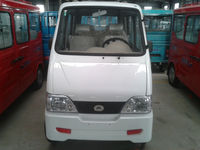 white smart electric van for 4-5 passenger seats