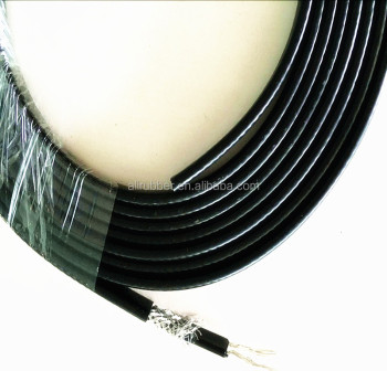 8*4mm Self-regulating Heating Cable (Heat Tape) 24v 65C color Black XD-H-M-410
