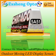 Move LED Sign / Mobile LED Video Screen, Double side Cab Ad