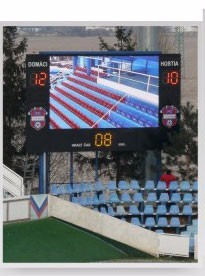 outdoor sport advertising P16mm large stadium led display screen