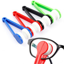 Multifunctional multicolor portable glasses wipe spectacles cleaning glasses wiper cloth Clean Wipe Tools Free shipping Z0290