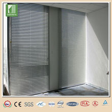 New design outdoor aluminium venetian blinds components aluminium roman blind track