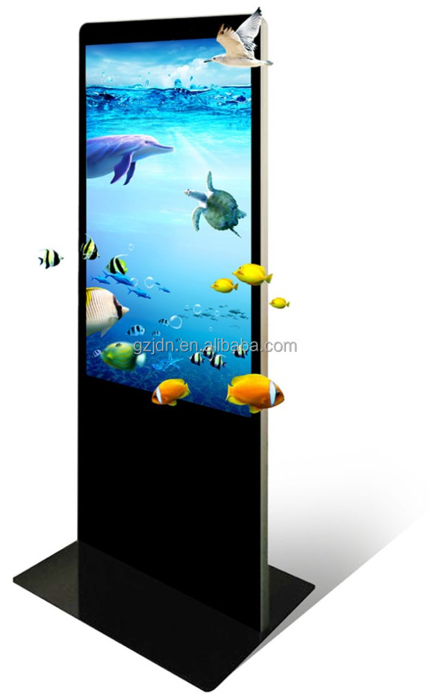 32/42/55/65inch floor standing big hd tv lcd samsung led diaplay advertising led tv 4k for business china suppliers