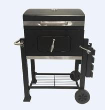 High Quality Charcoal Grill with Offset Smoker
