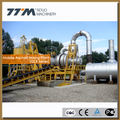 80t/h portable asphalt mixing plant, road construction equiupment