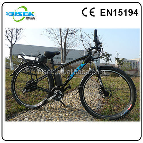 EPAC electric bicycle approved CE/EN15194