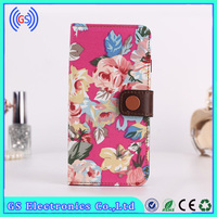 New detachable ultra-thin credit card slot pouch wallet flip leather case for iphone 3gs Girls