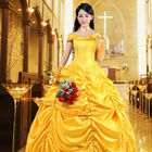 Adulte Belle Costume Dames Cosplay Princesse Fantaisie Robe
