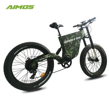 Fastest E Bike >> 2018 Aimos Latest Super Cool Design Electric Bicycle Fat Fastest