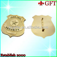 999 Gold Special Soft Enamel Badge Pin GFT-EB563