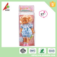 Most popular educational children toy girl baby pee doll