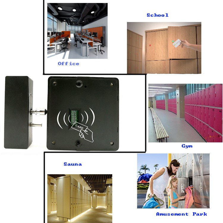 Electronic hidden rfid cabinet lock locker lock