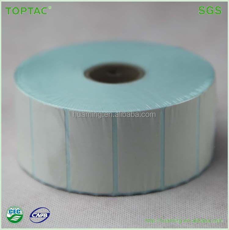 rolls customer design self adhesive thermal paper labels made in China