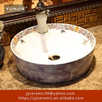 marble glazed sink ceramic farmhouse outdoor wash basin price in India